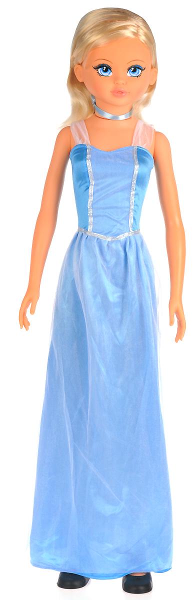 Falca Кукла Волшебная Принцесса цвет платья голубой 105 см