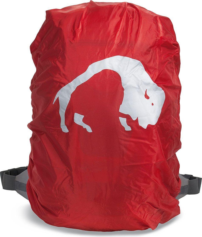 Накидка на рюкзак Tatonka Rain Flap, цвет: красный. Размер XS3107.015Индивидуальная защита от дождя для рюкзака 20-30 литров. Надежно защитит рюкзак от намокания.Преимущества и особенности: Светоотражающая печать с голотипом. Выполнен из яркой (красной) ткани. На размер рюкзака 20-30 литров Края на утягивающемся шнурке - плотно и надежно облегают рюкзак В комплекте - упаковочный чехол