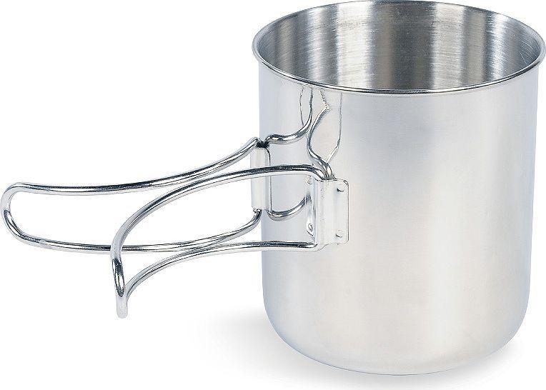 Кружка Tatonka Handle Mug 600, цвет: серебристый, 600 мл