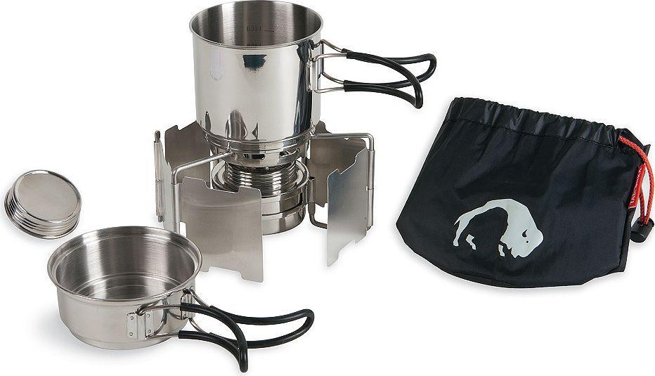 Набор походной посуды Tatonka Alcohol Burner Set, 4 предмета