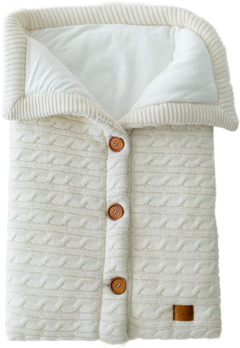 Loom Конверт для новорожденного Classic цвет белый 45 х 75