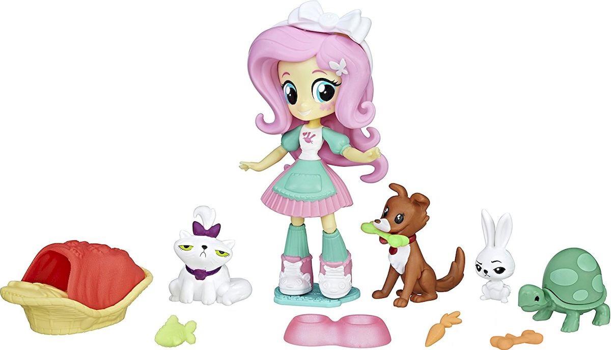 My Little Pony Equestria Girls Игровой набор Спа для животных Флаттершай gillian m berrow equestria girls bändide võistlus