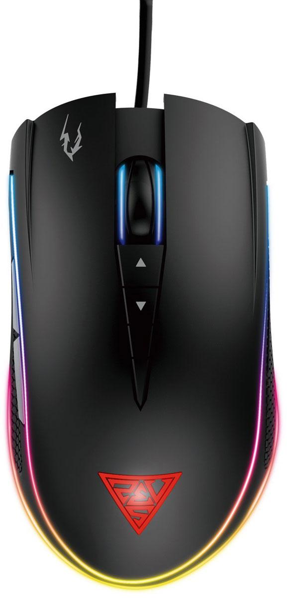 Gamdias Zeus M1, Black игровая мышьGM-GMZM1Мышь Gamdias Zeus M1 оборудована восемью кнопками, которые возможно запрограммировать под макросы или любые другие задачи.8 программируемых кнопок используются для назначения макрокоманд, профилей, клавишных сочетаний, управления мультимедийными функциями и функциями Windows.Оптический сенсор с разрешением 7000 DPI, которое можно менять на лету, гарантирует безошибочное позиционирование мыши.Благодаря продуманной эргономике вы не будете чувствовать дискомфорт при длительной работе с мышью, а также обеспечите себе плавное движение мыши.Единая программная среда HERA для периферии Gamdias позволяет настроить и привязать к клавишам экранные и звуковые оповещения с программированием по времени, макросы и многое другое.С прорезиненными боковыми вставками с обеих сторон, Gamdias Zeus P1 не выскользнет из вашей руки и обеспечит максимальное сцепление.Двойной уровень RGB-подсветки делает Gamdias Zeus P1 уникальной игровой мышью. Вы можете настроить каждый уровень независимо друг от друга из 16.8 миллионов цветов!Изменение общего веса с помощью двух грузиков весом по 4.5 грамм для повышения удобства управляемости мышью.Как выбрать игровую мышь. Статья OZON Гид