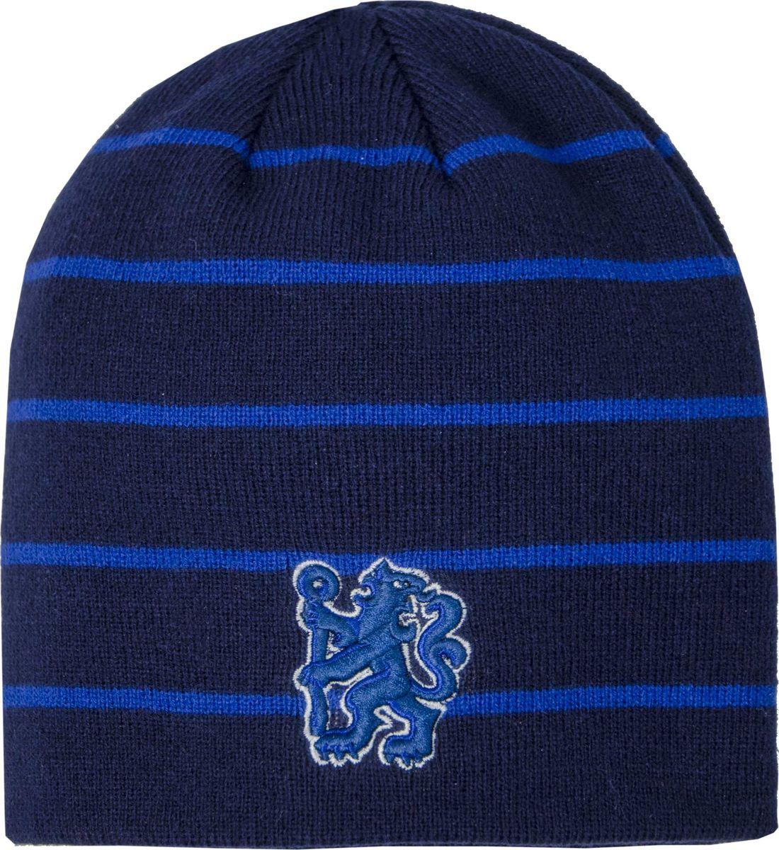 Шапка мужская Atributika & Club Chelsea, цвет: синий. 08012. Размер 55/58