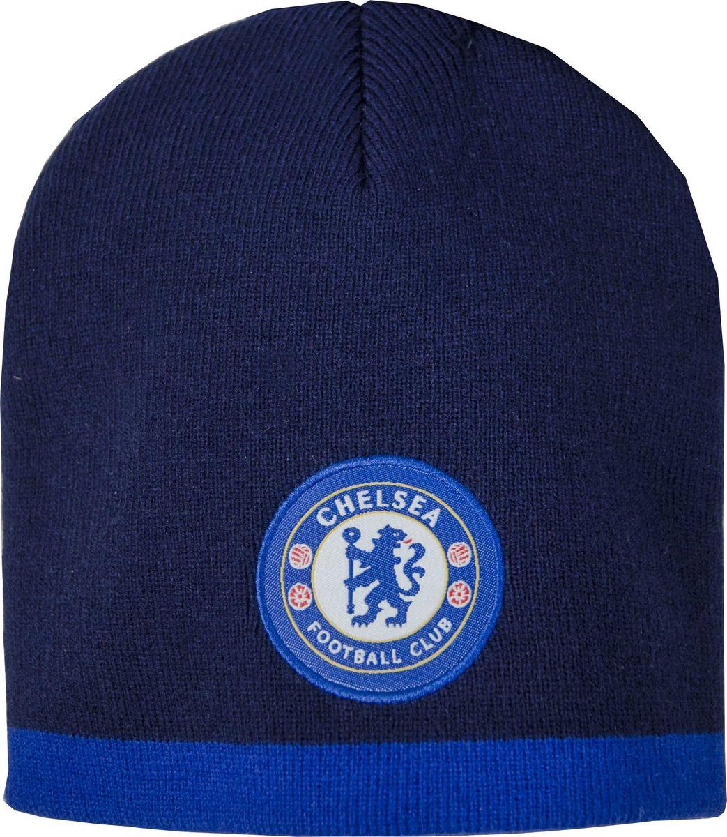 Шапка мужская Atributika & Club Chelsea, цвет: синий. 08011. Размер 55/5808011Классическая шапка Atributika & Club с объемным вышитым логотипом футбольного клуба. Выполнена из 100% акрила. Данная шапка является сертифицированным продуктом футбольного клуба Chelsea, упакована в индивидуальную упаковку, защищена голограммой, имеет уникальный штрих код.
