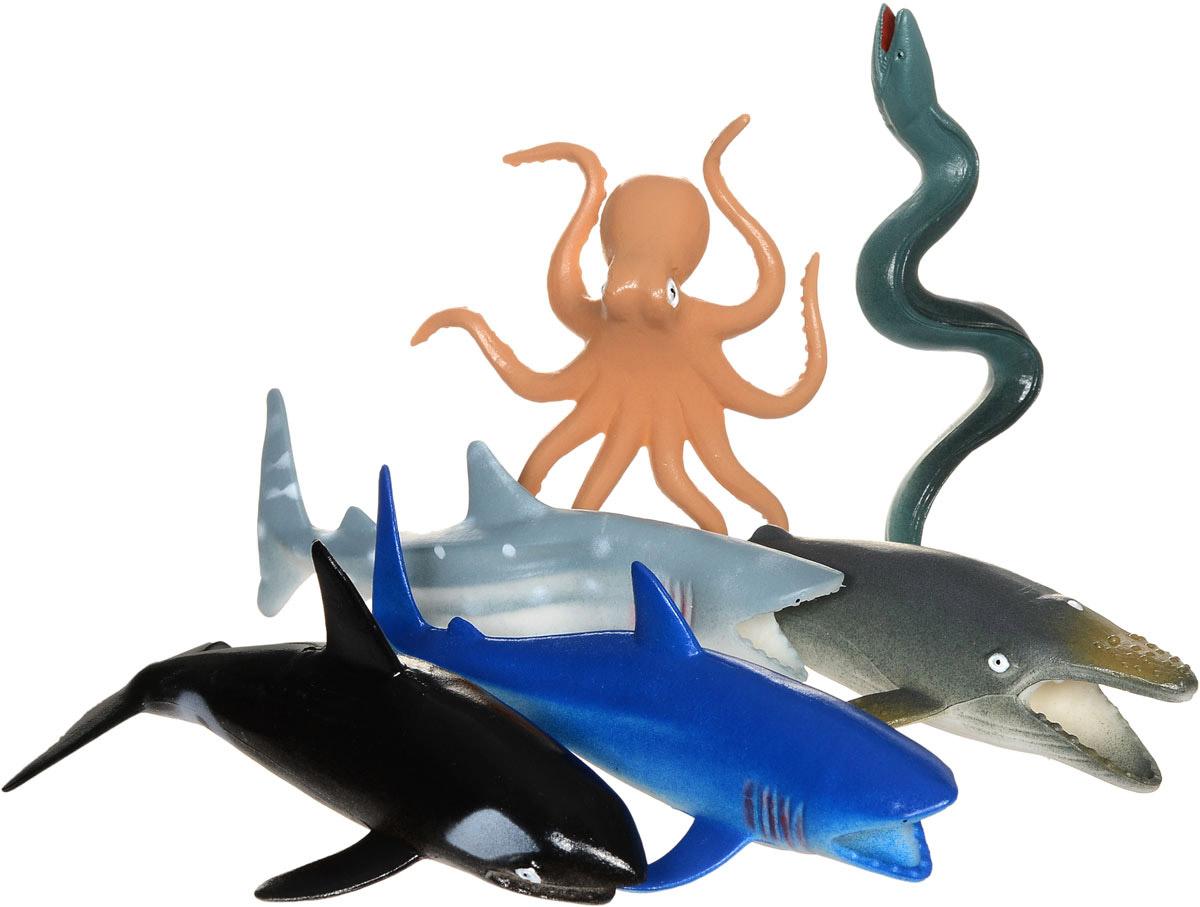 Играем вместе Набор фигурок Морские животные 6 шт алексеева е кит и другие морские животные
