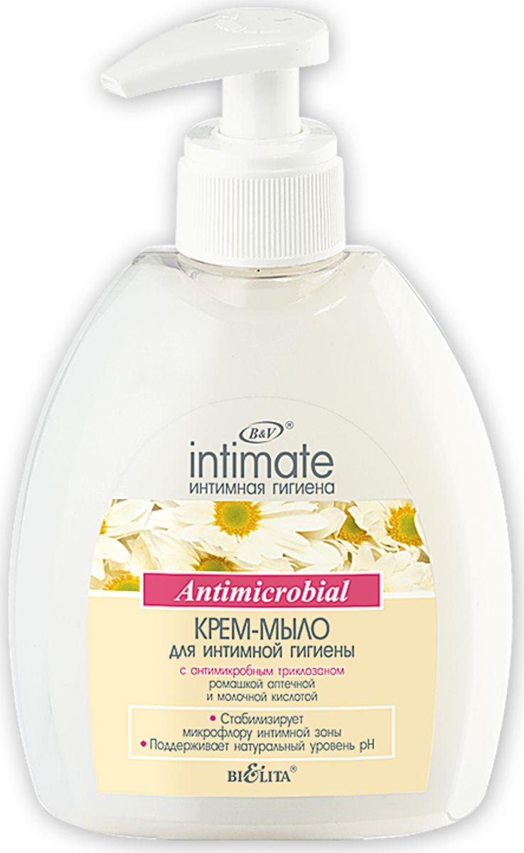 Белита Крем-мыло для интимной гигиены с антимикробным триклозаном, 300 млB-1024Бережно очищает, дезодорирует интимные участки тела.Рекомендовано для ежедневного применения.оказывает сбалансированное антимикробное действиеподдерживает натуральный уровень pH интимных зон