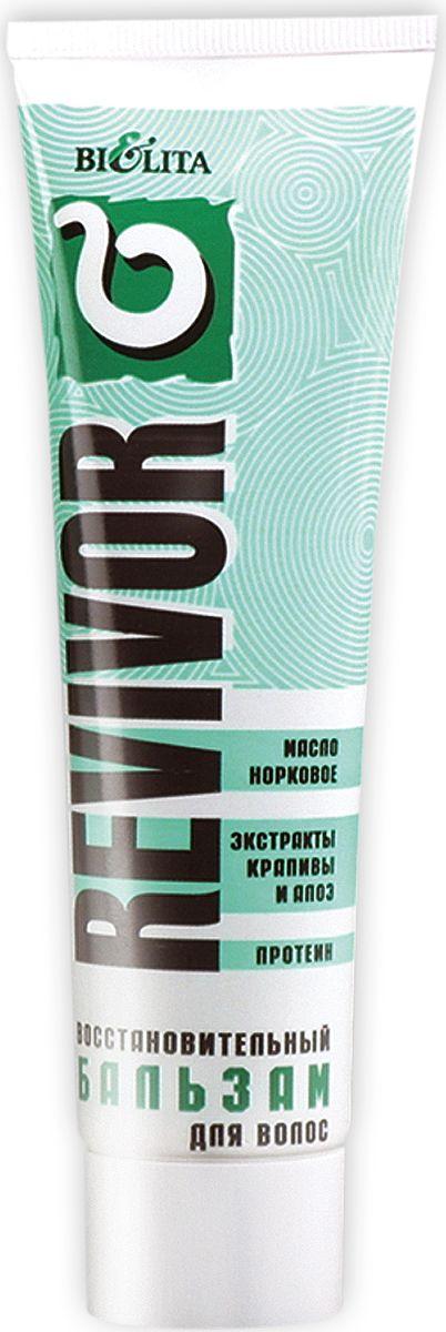 Белита Восстановительный бальзам для волос Ревивор с экстрактами алоэ и крапивы, 100 мл