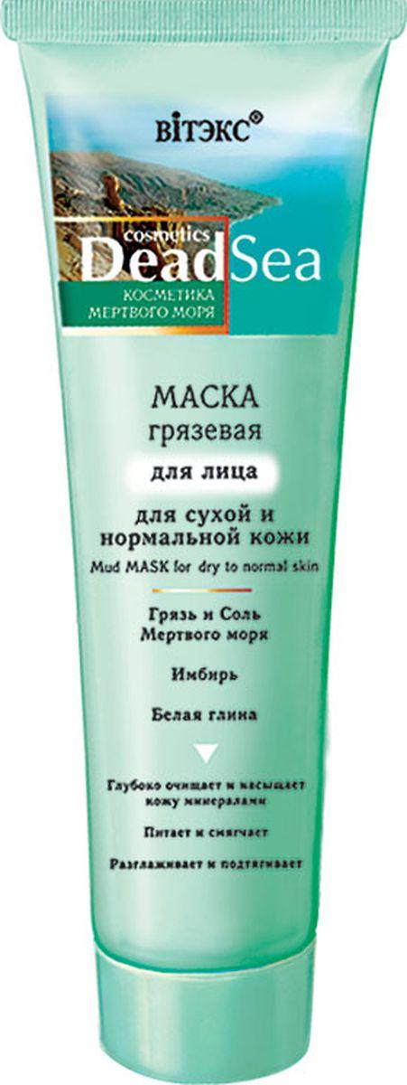 Витэкс Маска грязевая для лица для сухой и нормальной кожи Dead Sea, 100 млV-202Маска с целебной грязью Мертвого моря глубоко очищает, интенсивно питает, увлажняет и смягчает кожу. Насыщает клетки минералами и микроэлементами, восстанавливает естественный уровень увлажненности и энергетический баланс кожи. Активизируют обменные процессы, повышает упругость и эластичность. Подтягивает овал лица и разглаживает морщины. После использования маски кожа становится гладкой, нежной и бархатистой.
