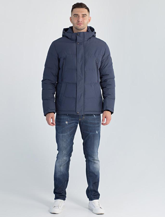 Фото Куртка мужская Defreeze, цвет: синий. 61-827_d.navy. Размер 54
