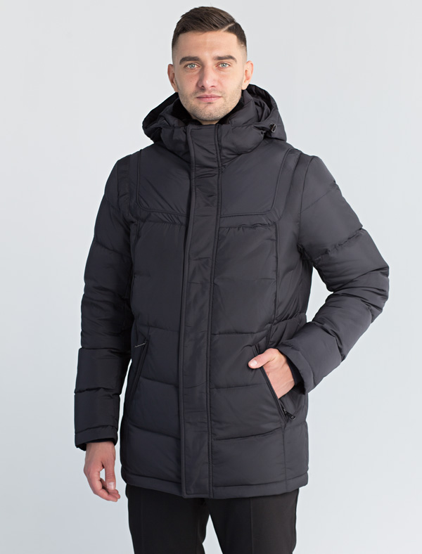 Куртка мужская Defreeze, цвет: синий. 71-199_d.navy. Размер 5271-199_d.navy