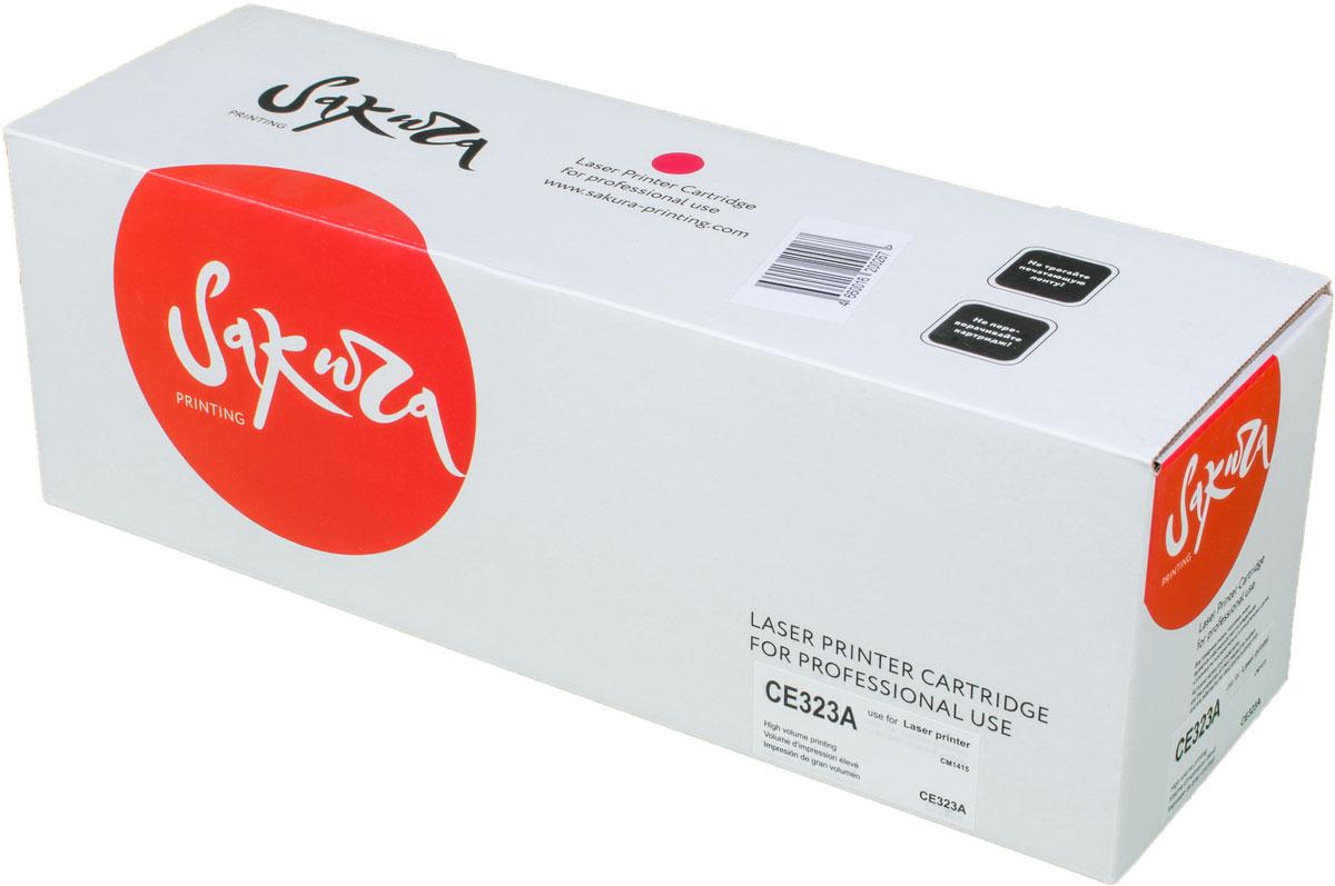 Sakura CE323A, Magenta тонер-картридж для HP Color LJ PRO CP1525N/CP1525NWSACE323AТонер-картридж Sakura CE323A для лазерных принтеров HP Color LaserJet Pro CP1525 является альтернативным решением для замены оригинальных картриджей. Он печатает с тем же качеством и имеет тот же ресурс, что и оригинальный картридж. В картриджах компании Sakura используется химический синтезированный тонер, который в отличие от дешевого тонера из перемолотого полимера, не царапает, а смазывает печатающий вал, что приводит к возможности многократных перезаправок картриджей. Такой подход гарантирует долгий срок службы принтера, превосходное качество и стабильность печати.Тонер-картриджи Sakura производятся при строгом соответствии стандартам ISO 9001 и ISO 14001, что подтверждено международными сертификатами.