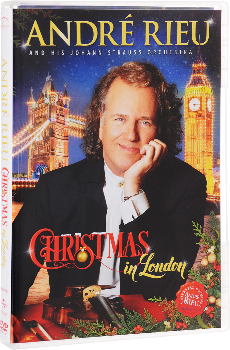 Andre Rieu And His Johann Strauss Orchestra: Christmas In London andre rieu magic of the violin