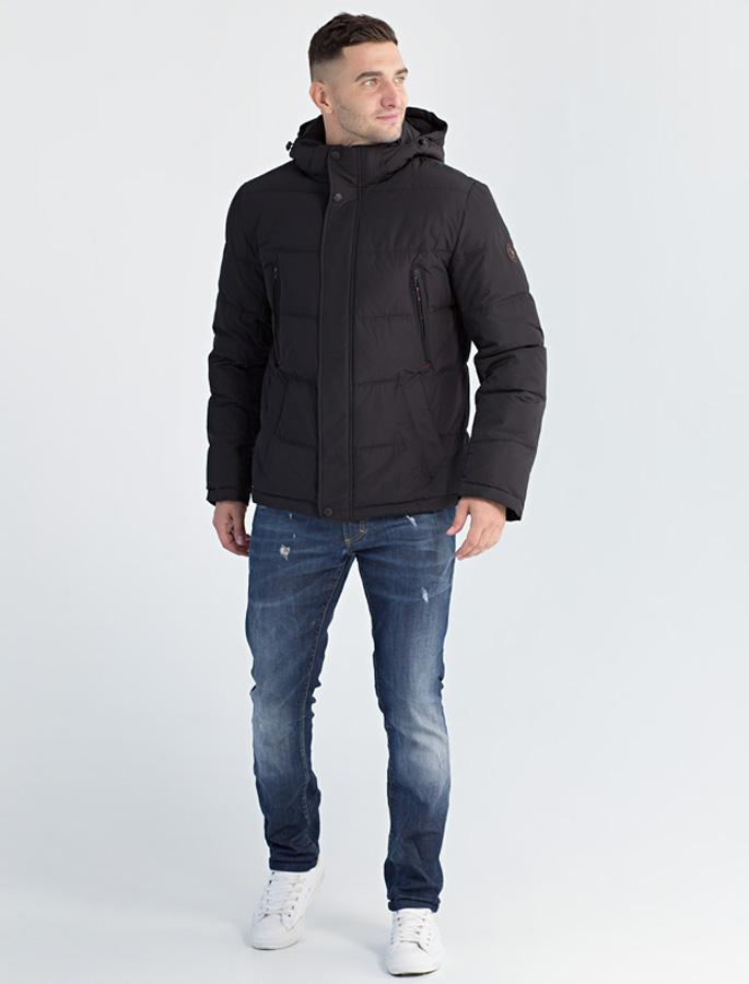 Куртка мужская Defreeze, цвет: черный. 61-827_black. Размер 5661-827_black
