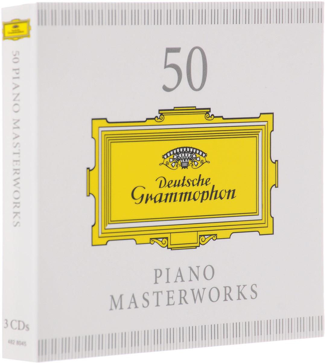 50 Piano Masterworks (3 CD)