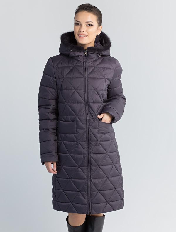 Пальто женское Defreeze, цвет: серый. 72-266_graphite. Размер 5472-266_graphite