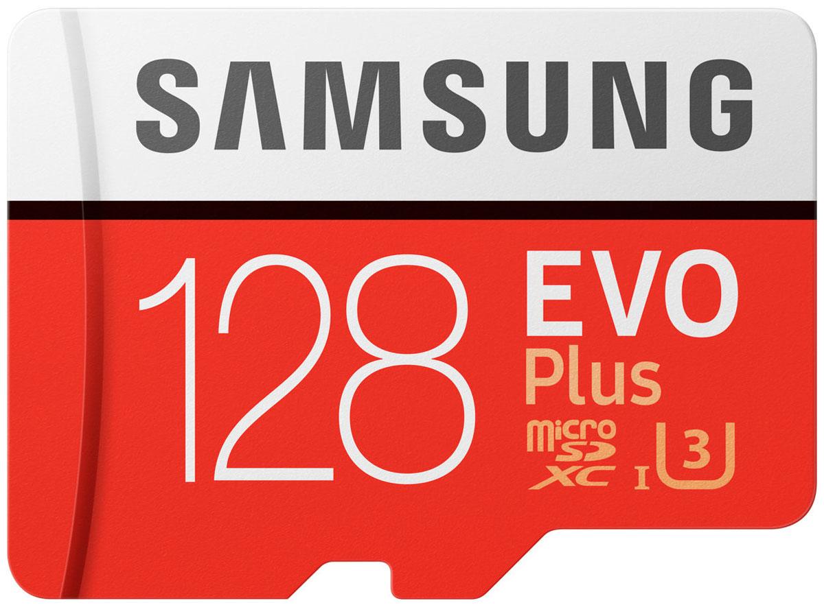 Samsung microSDXC Class 10 EVO Plus V2 128GB карта памяти с адаптеромSAM-MB-MC128GARUКарты серии EVO Plus идеально подходят для записи самых дорогих моментов в жизни и последующем чтении 4K UHD видео на совместимом устройстве.Карты microSD совместимы с широким спектром устройств, а благодаря входящему в комплект SD-адаптеру подходит для еще большего количества устройств почти любой торговой марки, сохраняя при этом отличную скорость и производительность EVO Plus.Карта памяти Samsung microSDXC Class 10 EVO Plus V2 защищена4-мя типами защиты: она может выдерживать до 72 часов в морской воде, работать в экстремальных температурах, находиться в рентгеновских аппаратах аэропортов или под воздействием электро-магнитных волн, эквивалентных МРТ.