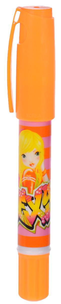 Top Model Неоновый маркер цвет оранжевый журнал top model для девочек