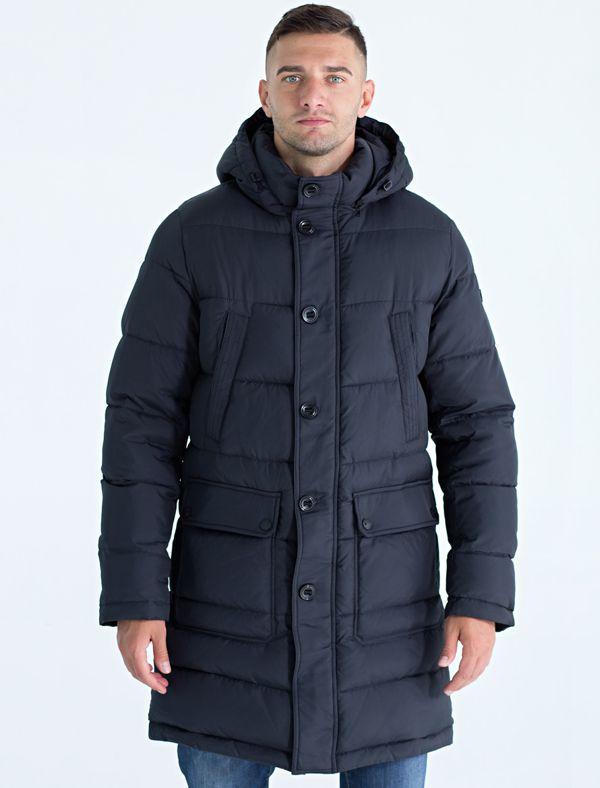 Пальто мужское Defreeze, цвет: синий. 71-293_d.navy. Размер 4671-293_d.navy