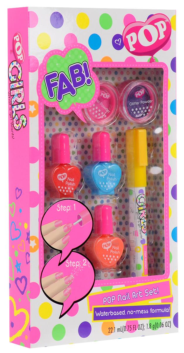 MarkwinsИгровой набор детской декоративной косметики для ногтей POP Markwins