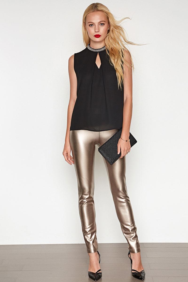 Блузка женская Concept Club Cannelle, цвет: черный. 10200270149. Размер L (48)10200270149_100Блузка жен. Cannelle бежевый