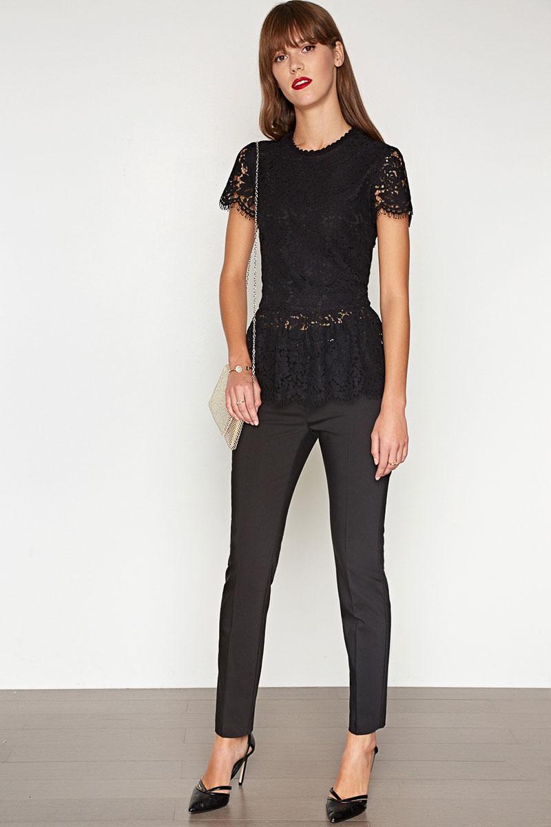 Блузка женская Concept Club Diva, цвет: черный. 10200270146. Размер M (46) платье женское concept club basy цвет черный 10200200341 размер m 46