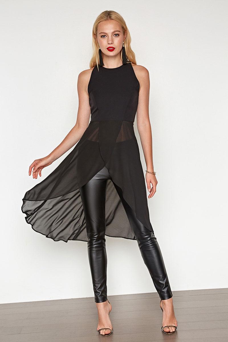 Блузка женская Concept Club Sceau, цвет: черный. 10200270148. Размер L (48)10200270148_100Блузка жен. Sceau черный