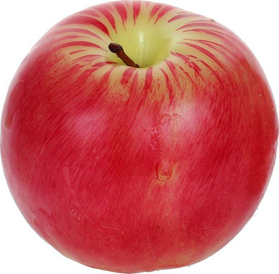 Свеча декоративная Карамба Яблоко, цвет: красный, 8 см3108Свеча для праздника и украшения интерьера в виде яблока.