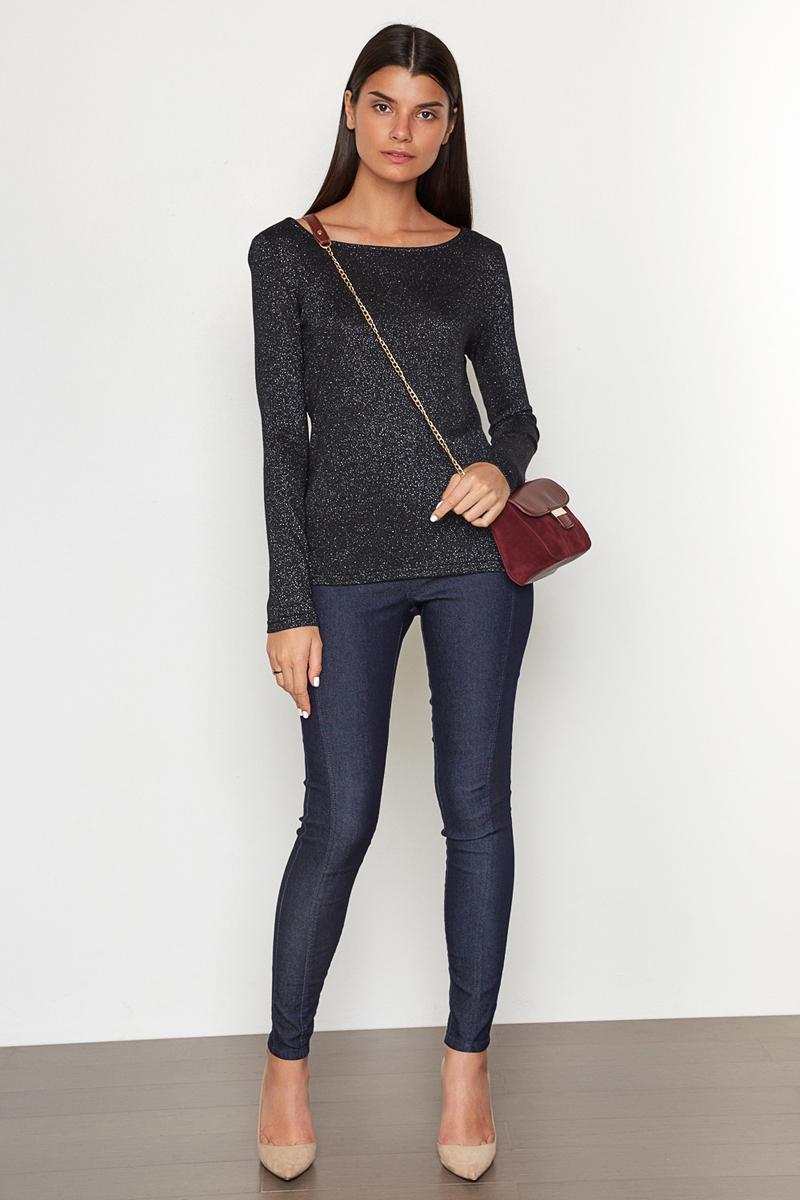 Брюки женские Concept Club Iver, цвет: темно-синий. 10200160249. Размер XS (42)10200160249_600Брюки джинсовые жен. Iver темно-синий