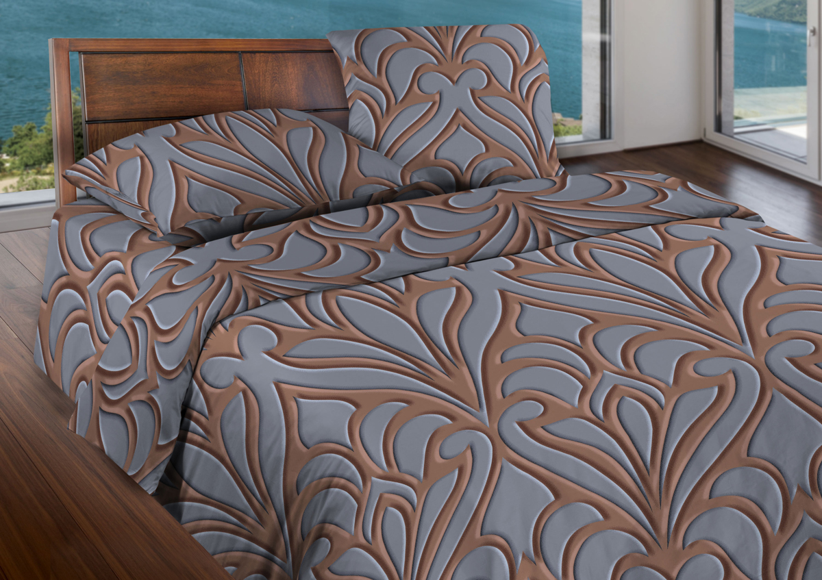 Комплект белья Wenge Eccentric, 1,5-спальный, наволочки 70x70, цвет: коричневый409461Комплект белья Wenge является экологически безопасным для всей семьи, так как выполнен из бязи (100% хлопка). Постельное белье оформлено оригинальным рисунком и имеет изысканный внешний вид. Бязевое белье выдерживает бесконечное число стирок, к тому же стоит сравнительно недорого. Лучшее соотношение цены, качества ткани и современных дизайнов. Комплект состоит из пододеяльника, простыни и двух наволочек.