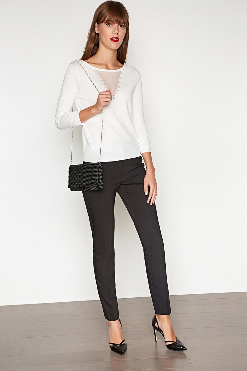 Брюки женские Concept Club Sok, цвет: черный. 10200160263. Размер M (46) платье женское concept club basy цвет черный 10200200341 размер m 46