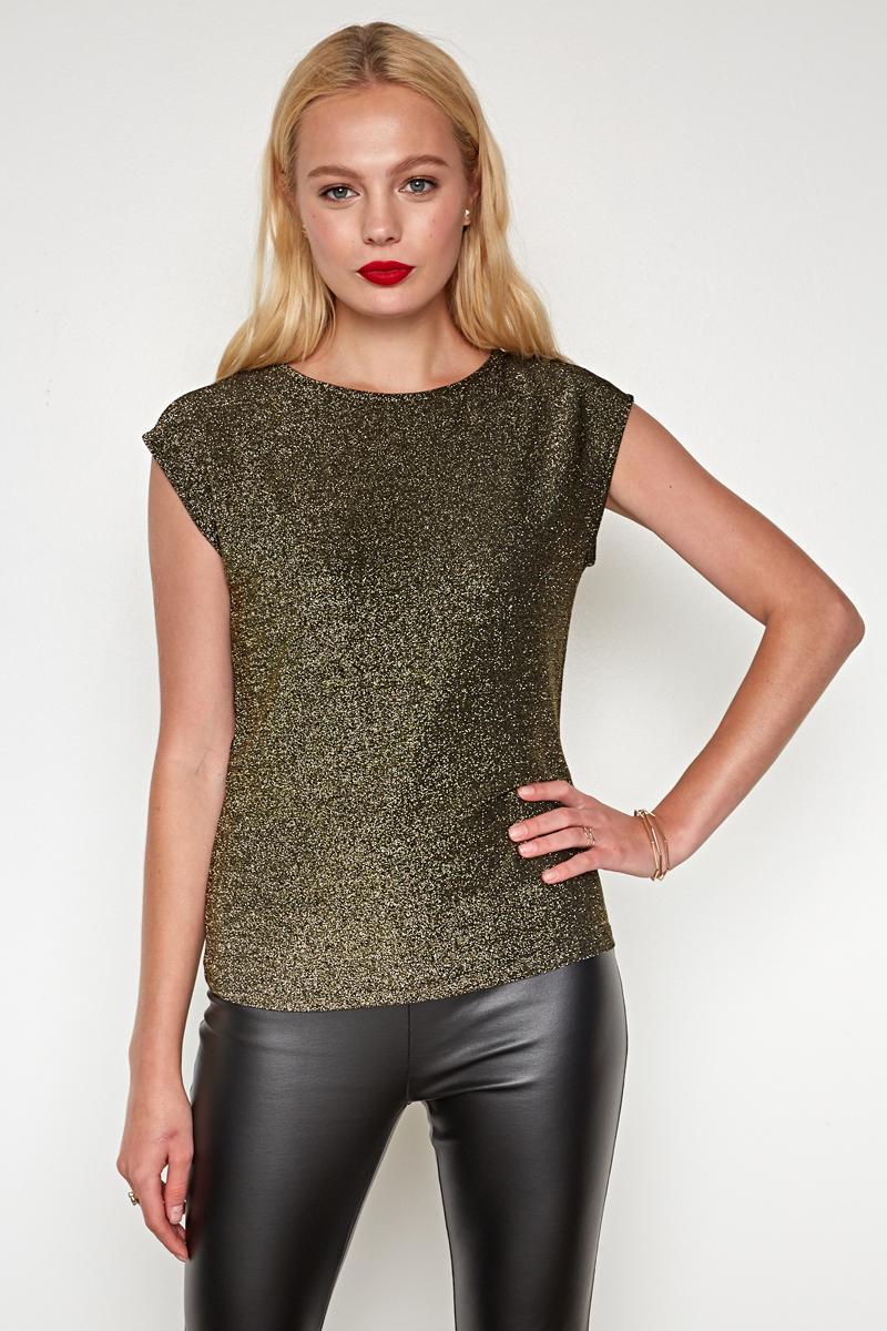 Джемпер женский Concept Club Megra, цвет: золотой. 10200110277. Размер XS (42)10200110277_3600Джемпер жен. Megra золотой