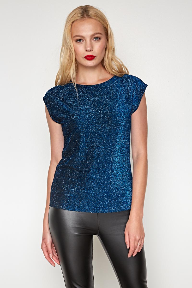 Джемпер женский Concept Club Megra, цвет: синий. 10200110277. Размер XS (42)10200110277_500Джемпер жен. Megra золотой
