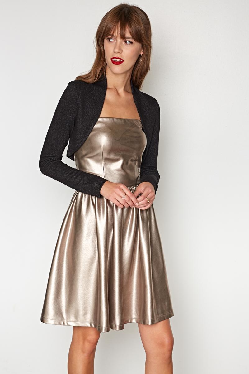 Жакет женский Concept Club Simz, цвет: черный. 10200130121. Размер M (46) платье женское concept club basy цвет черный 10200200341 размер m 46