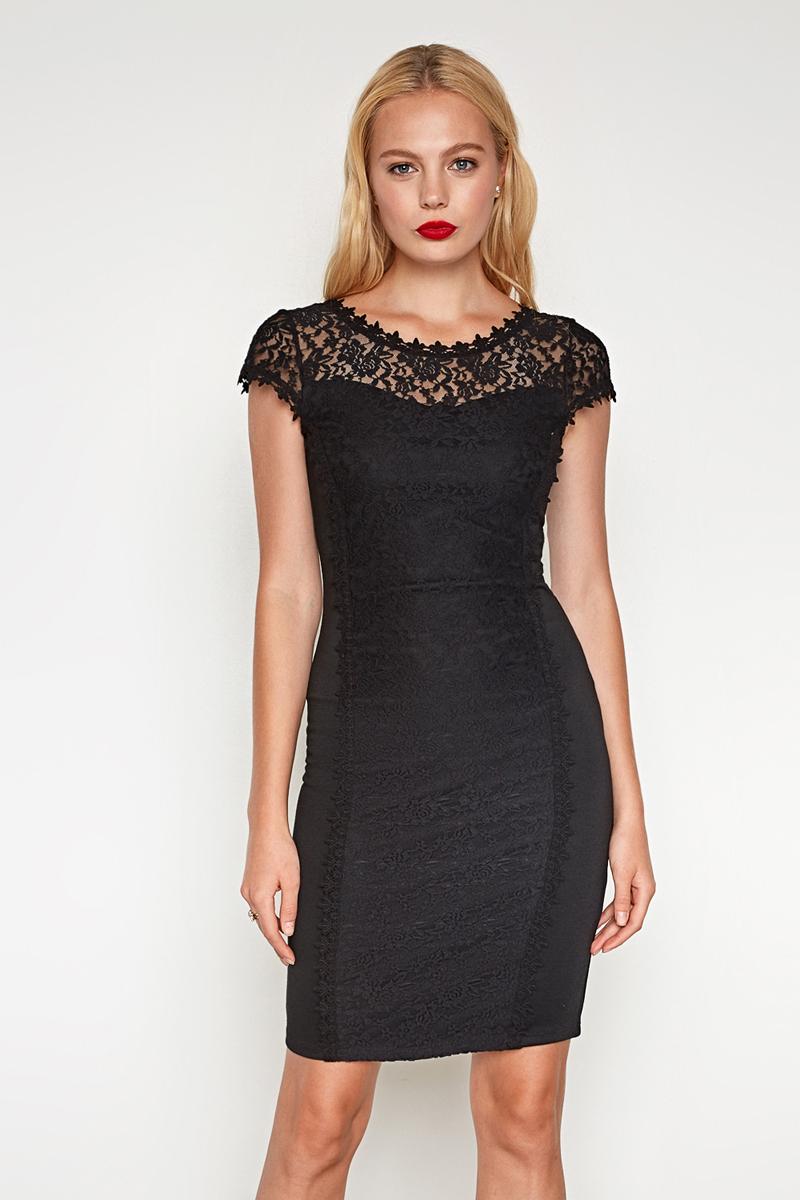 Платье женское Concept Club Joel, цвет: черный. 10200200401. Размер M (46)10200200401_100Платье жен. Joel черный