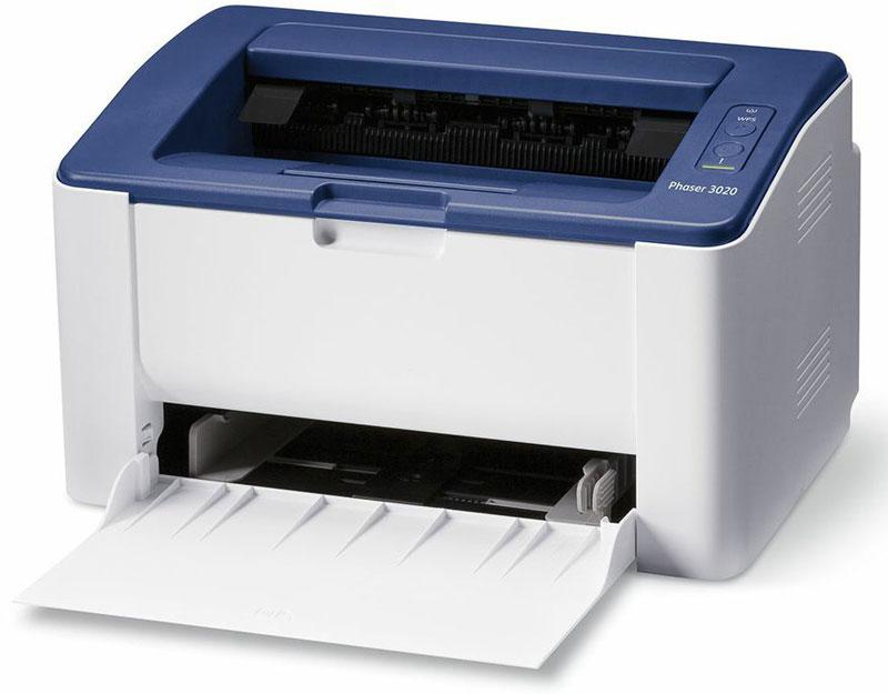 Xerox Phaser 3020B принтер3020V_BIМонохромный лазерный принтер Xerox Phaser 3020B становится самым младшим представителем линейки Xerox в сегменте монохромных принтеров. Он станет идеальными помощником как для персонального пользователя, так и для компаний малого бизнеса.Принтер Phaser 3020 удобен и прост в эксплуатации – устройство оснащено удобной панелью управления и имеет интуитивно понятный пользовательский интерфейс.В модели применяется один легко заменяемый, универсальный картридж — это упрощает управление расходными материалами и сводит к минимуму время на их замену, а еще отличительным преимуществом устройства является наличие оригинального комплекта заправки картриджа на 1500 страниц. Благодаря своей компактности и встроенному интерфейсу Wi-Fi принтер Phaser 3020B c легкостью размещается в любом удобном месте.Благодаря поддержке облачных сервисов Phaser 3020 позволяет отправлять документы на печать со смартфонов и планшетов на платформах Android и iOS, а функция Wi-Fi Direct обеспечивает поддержку этих функций даже при отсутствии беспроводной сети.