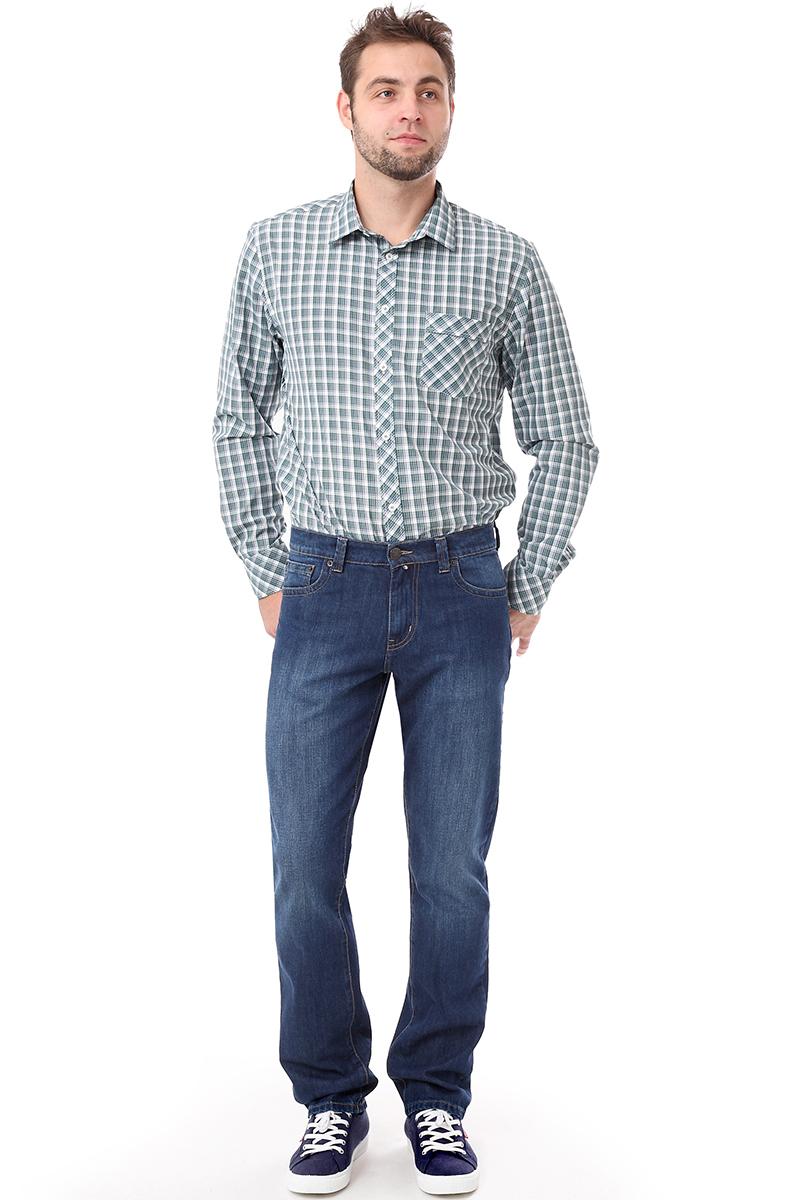Рубашка мужская F5 Poplin, цвет: светло-зеленый. 276004. Размер S (46)276004_Check 10Мужская рубашка F5, выполненная из хлопка и полиэстера, прекрасно подойдет для повседневной носки. Материал очень мягкий и приятный на ощупь, не сковывает движения и позволяет коже дышать. Рубашка прямого кроя с отложным воротником и длинными рукавами застегивается на пуговицы по всей длине. На груди модели предусмотрен накладной карман. Манжеты рукавов также застегиваются на пуговицы. Изделие оформлено принтом в клетку. Такая модель будет дарить вам комфорт в течение всего дня и станет модным и стильным дополнением к вашему гардеробу.