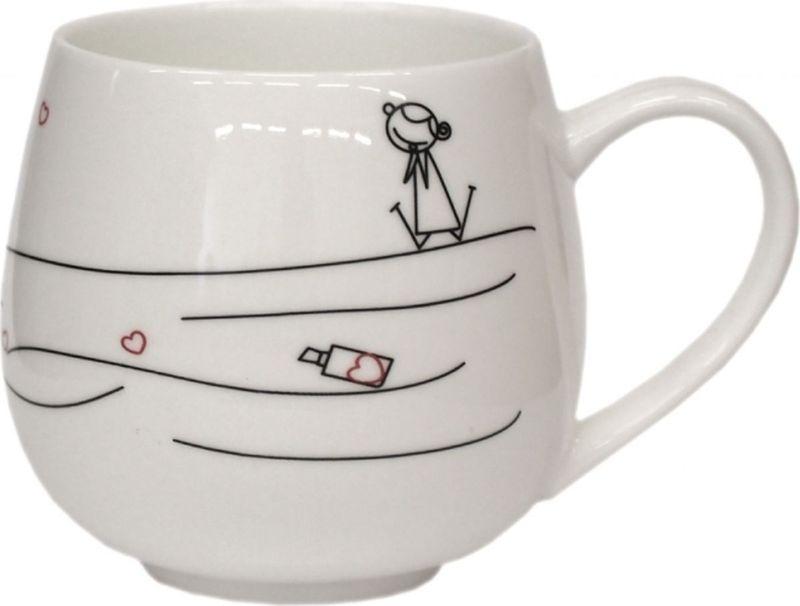 Кружка Карамба Сачок, 320 мл3056Стильная кружка Карамба Сачок выполнена из керамики и оформлена забавным рисунком. Кружка Сачок станет не только приятным, но и практичным сувениром.