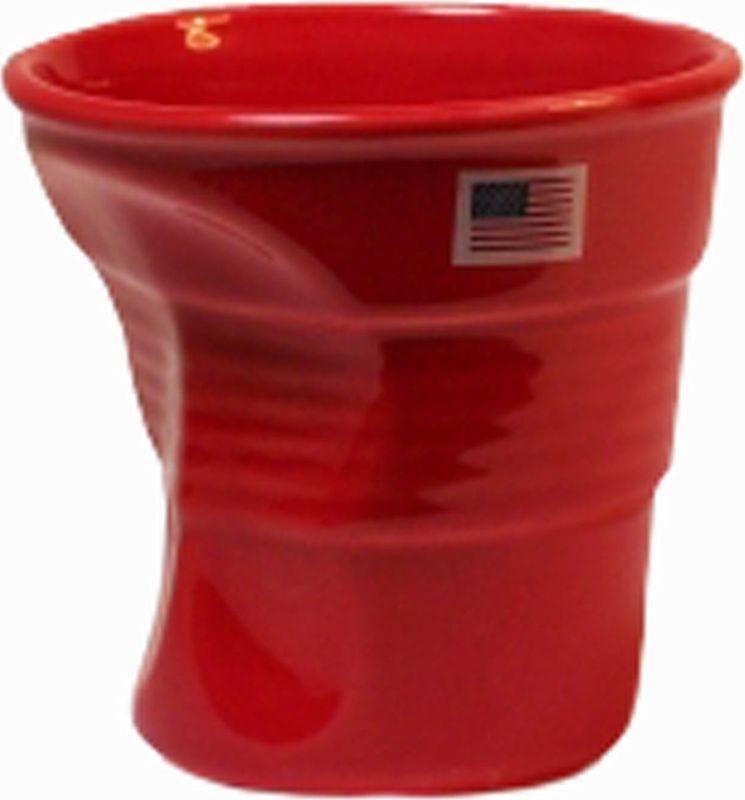 Стакан Карамба Американский флаг, цвет: красный, 150 мл3126Забавные небольшие керамические мятыестаканчики с изображением американского флага.