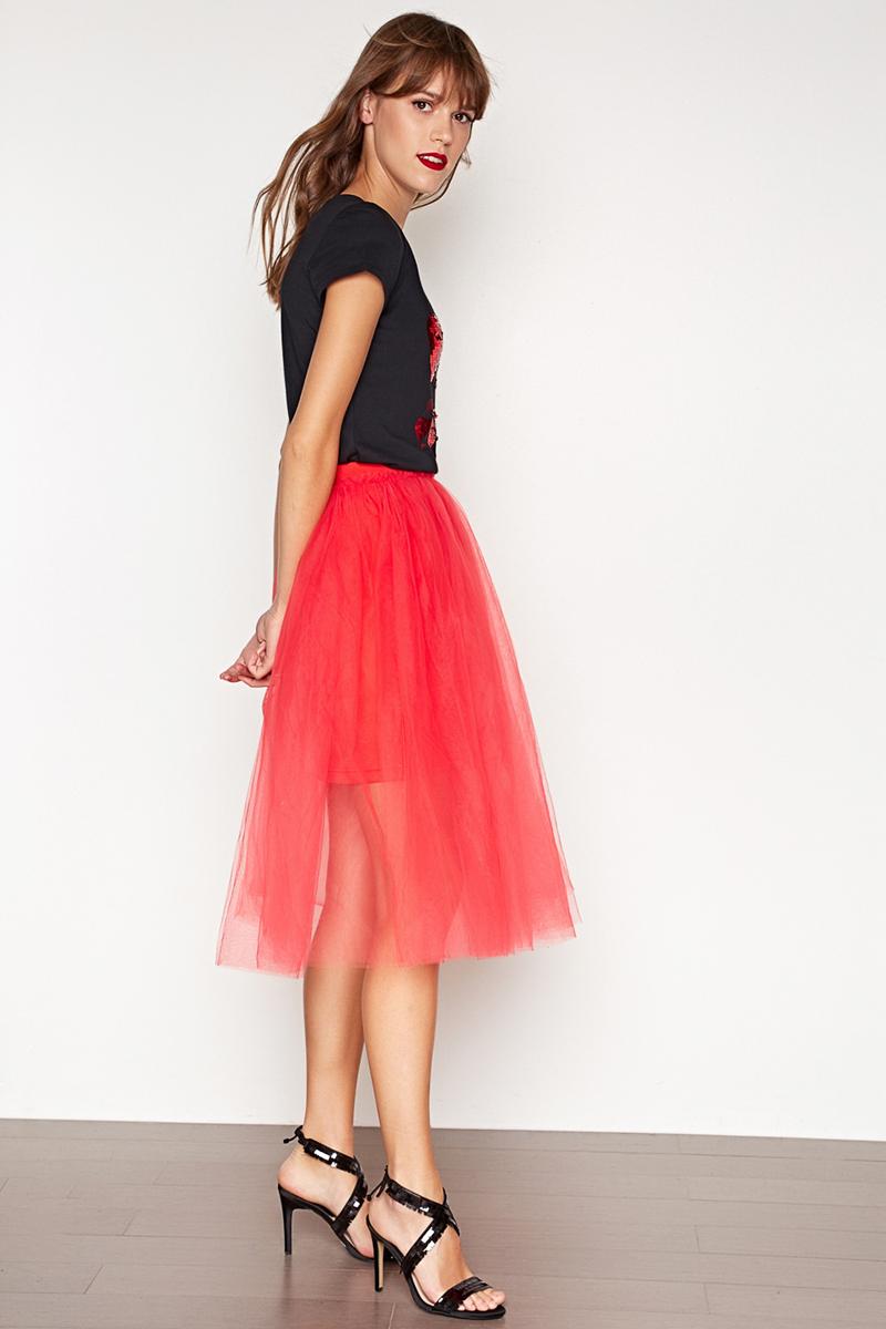 Юбка женская Concept Club Mosh, цвет: красный. 10200180221. Размер M (46)10200180221_1500Юбка жен. Mosh красный