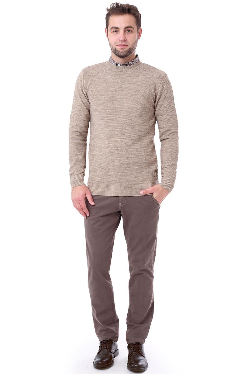 Свитер мужской F5, цвет: бежевый. 276126. Размер L (50)276126_beige