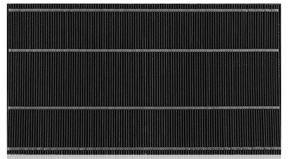 Sharp FZA61DFR угольный фильтр для очистителя воздуха Sharp KC-A61RWFZA61DFRУгольный фильтр Sharp FZA61DFR может использоваться в приборах для очистки воздуха с дополнительной функцией увлажнения Sharp KC-A61RW. Он оптимально подходит для этой модели по форме и размерам.Угольный фильтр очень эффективен, благодаря выбранному для его производства материалу. Представленный фильтр выполнен из активированного угля, известного своими абсорбирующими свойствами. Благодаря пористой структуре, он может впитывать даже довольно крупные примеси.
