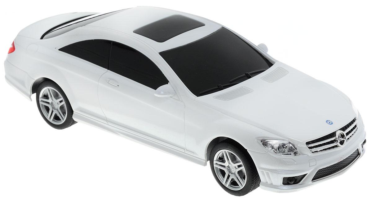 Rastar Радиоуправляемая модель Mercedes-Benz CL 63 AMG цвет белый rastar радиоуправляемая модель mercedes benz glk class цвет белый масштаб 1 24