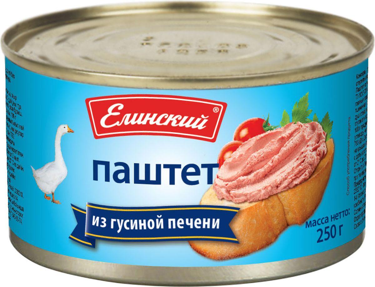 Елинский паштет из гусиной печени, 250 г хлеб