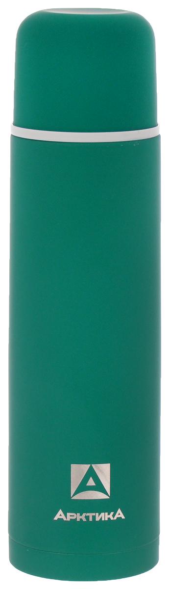 Термос Арктика, цвет: зеленый, 1 л. 103-1000103-1000 зелёныйКлассический термос Арктика с резиновым шелковым покрытием сохранит температуру напитков. Термос выполнен из нержавеющей стали с использованием пищевого пластика с отделкой эффект шелка. Ударопрочный корпус состоит из двух колб, выполненных из нержавеющей стали с вакуумом между ними. Термос оснащен удобной пробкой с каналами для наливания воды в полуоткрытом положении.Стильный функциональный термос будет незаменим в дороге, на пикнике. Его можно взять с собой куда угодно, и вы всегда сможете наслаждаться горячим домашним напитком.Диаметр горлышка: 5,2 см.Диаметр основания: 8,4 см.Высота (с учетом крышки): 30,5 см.Время сохранения температуры (холодной и горячей): 26 часов.