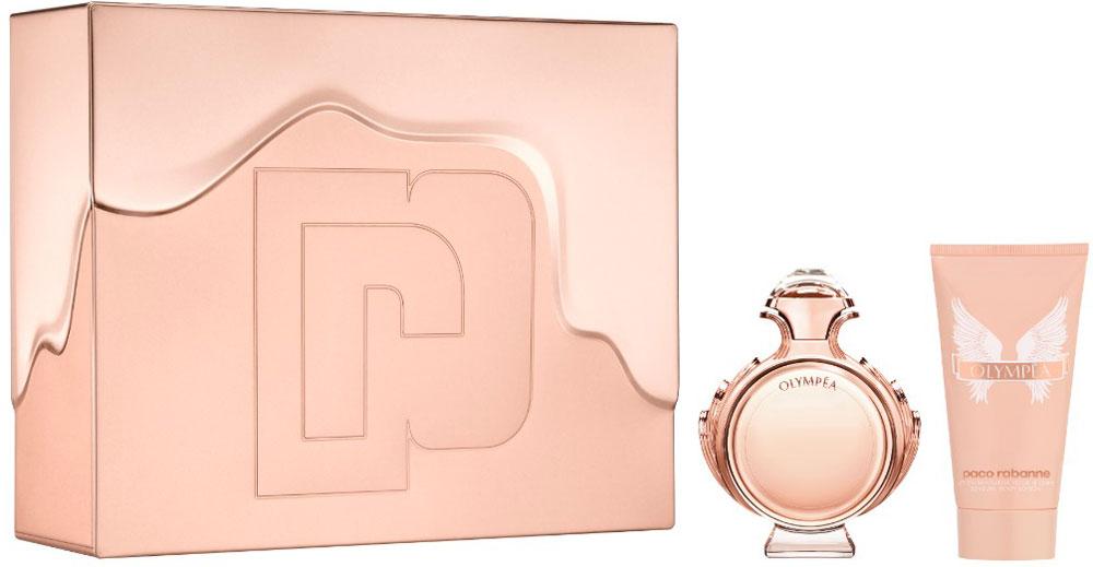 Paco Rabanne Парфюмерный набор Olympea: парфюмерная вода, 50 мл, лосьон для тела, 75 мл