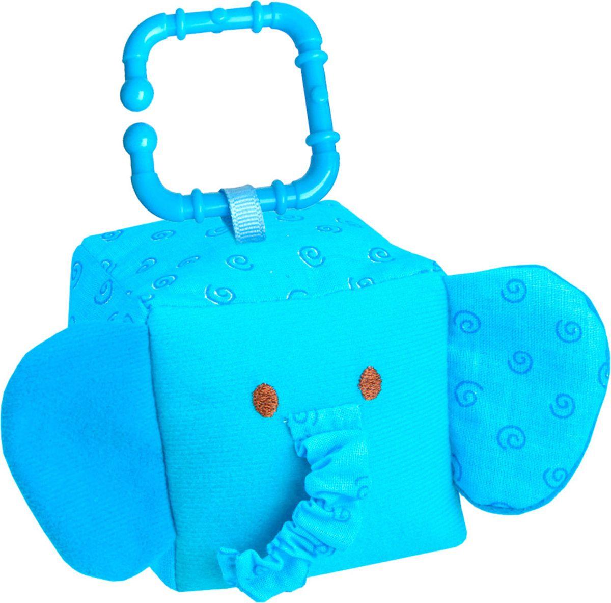 Мякиши Развивающая игрушка Кубик ЗооМякиши Слоник кубик мякиши зоомякиши обезьянка 258 1 шт