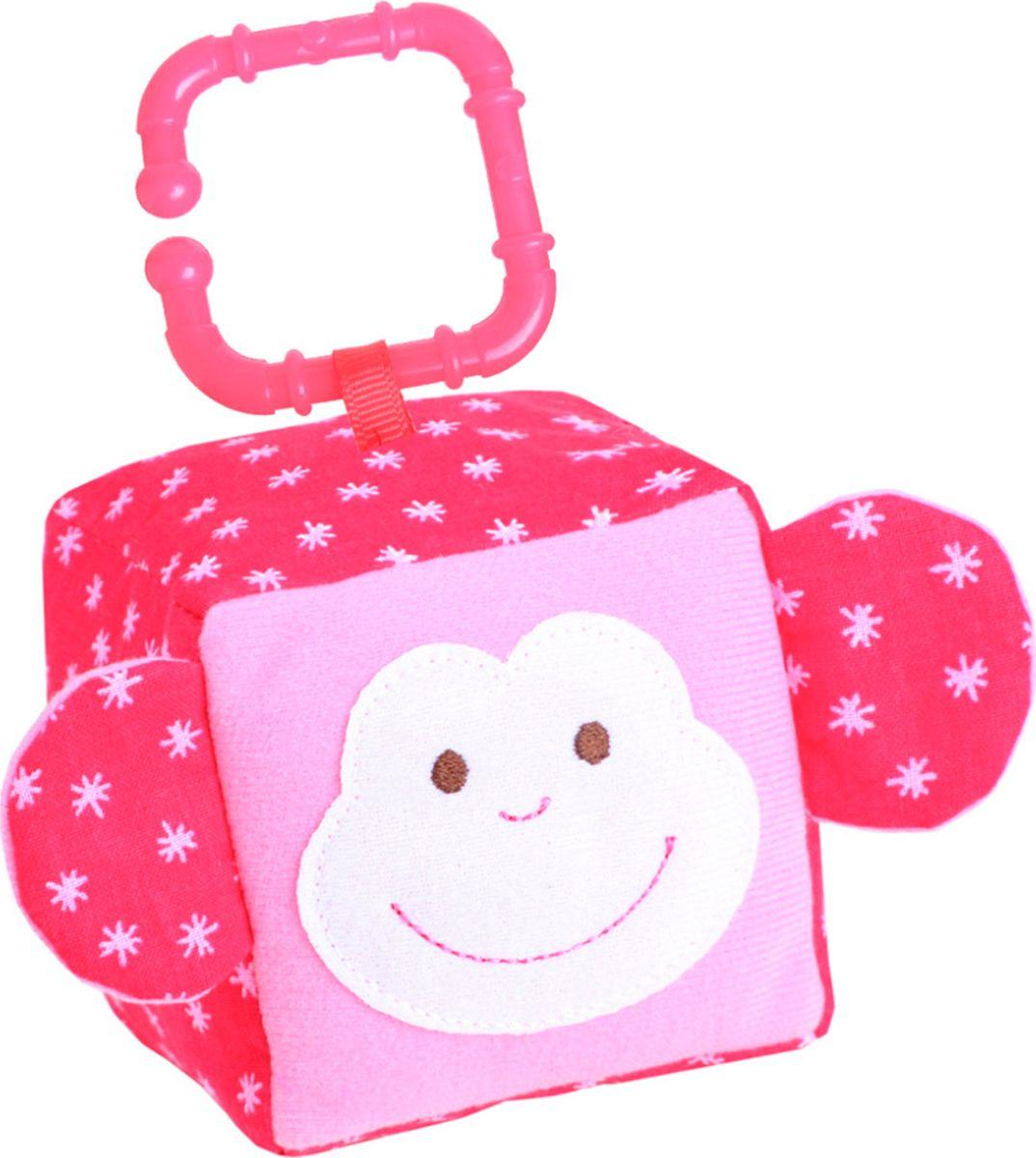 Мякиши Развивающая игрушка Кубик ЗооМякиши Обезьянка кубик мякиши зоомякиши обезьянка 258 1 шт