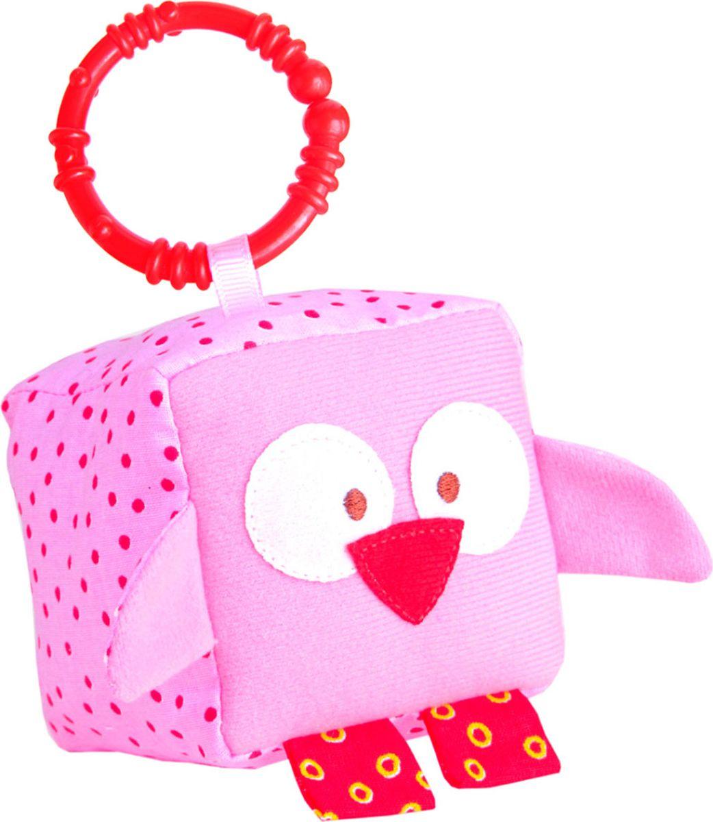 Мякиши Развивающая игрушка Кубик ЗооМякиши Совенок чтение про себя у школьников с особенностями зрительного восприятия