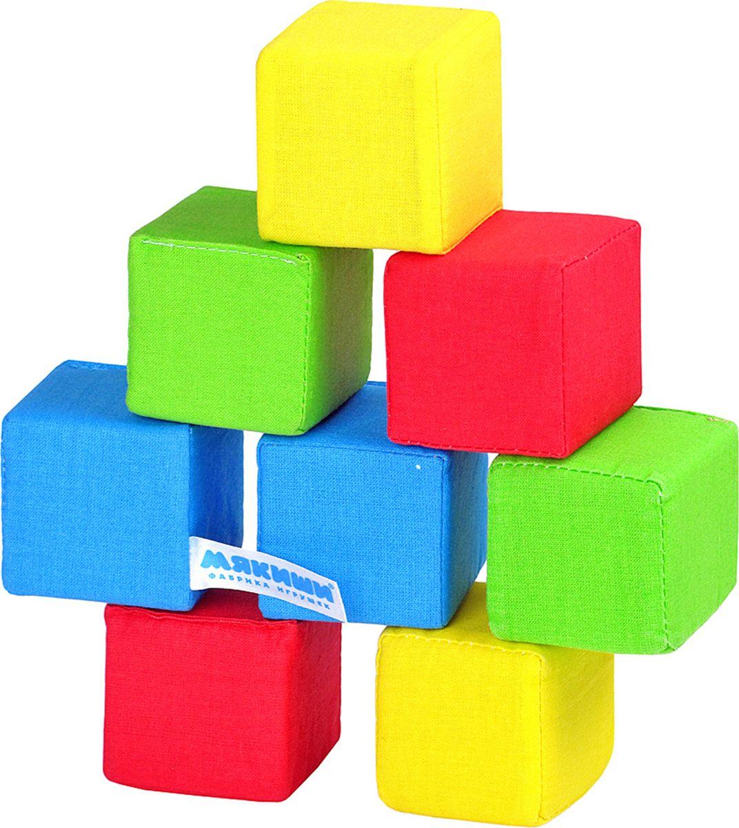 Мякиши Кубики 4 цвета природоведение для самых маленьких